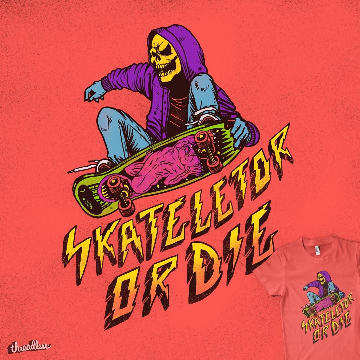 Skateletor or Die by MadKobra on Threadless