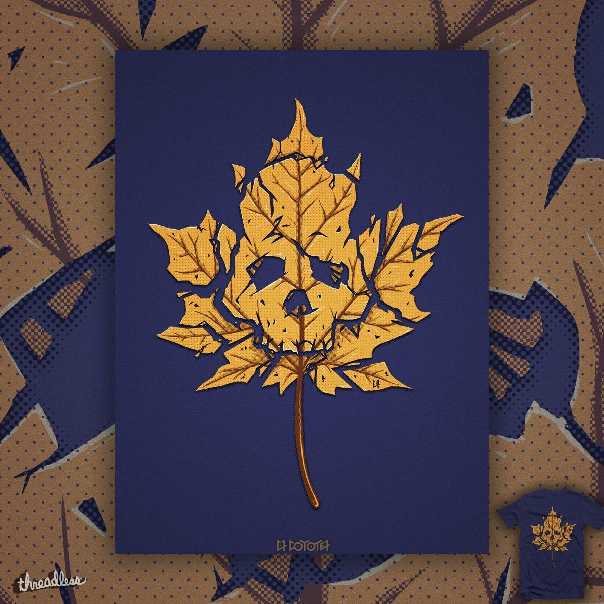 Dead Leaf by c0y0te7 on Threadless