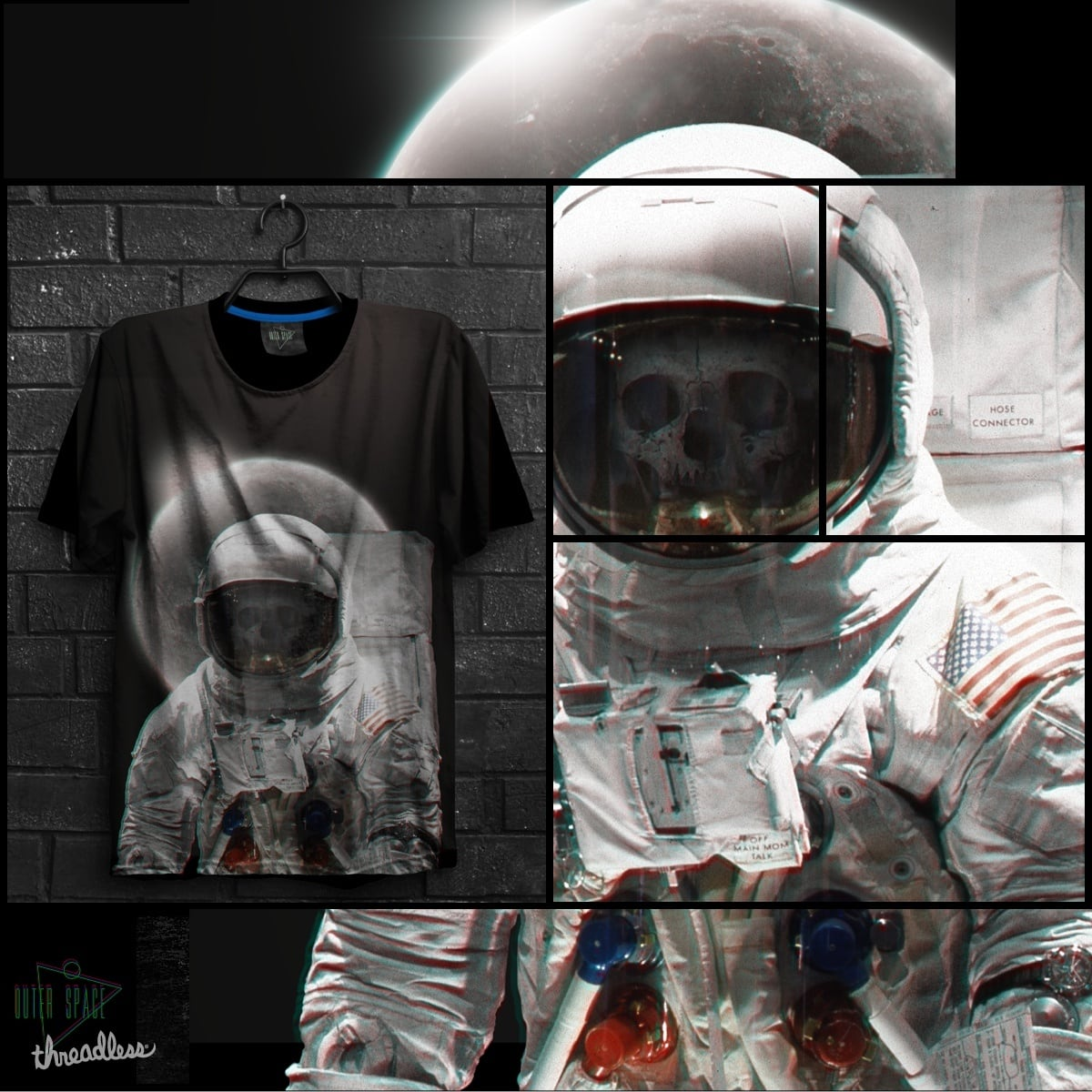 Outer Space by superivan on Threadless