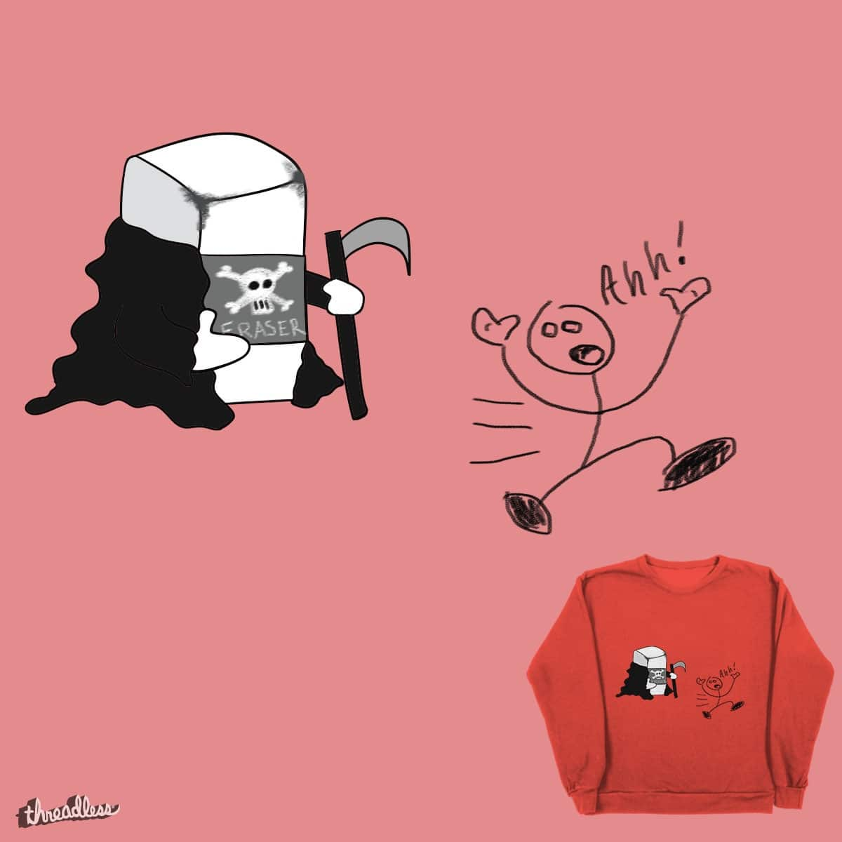 The Eraser by Freddy Sanchez on Threadless
