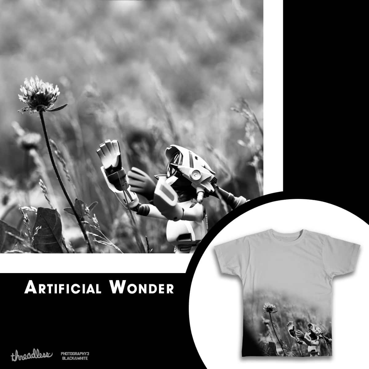 Artificial Wonder by KrazyK_zilla on Threadless