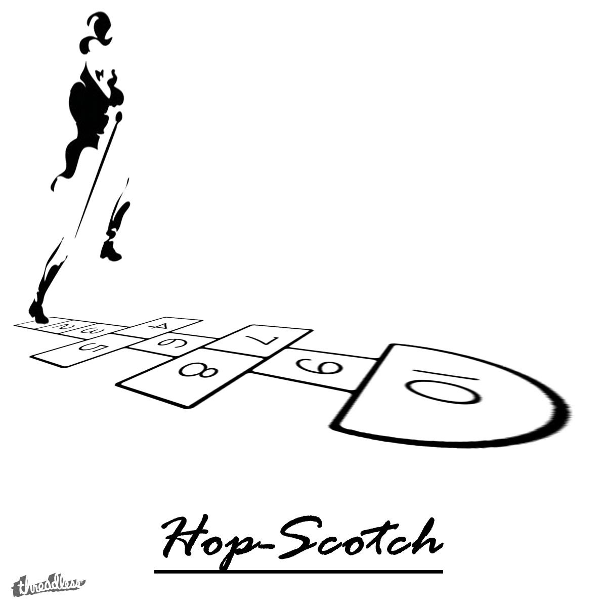 Hop-Scotch by Jugal on Threadless