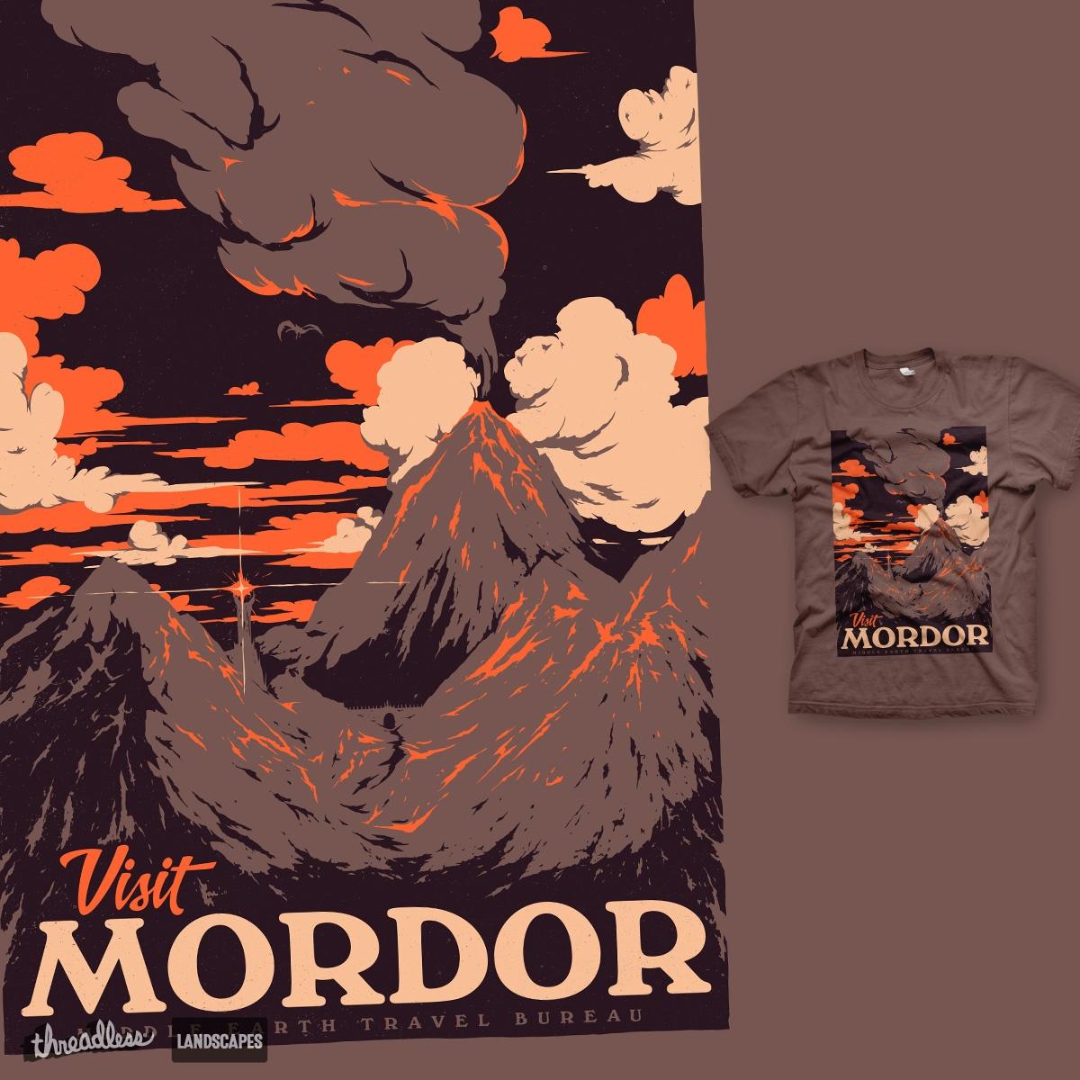 Vist Mordor by mathiole on Threadless