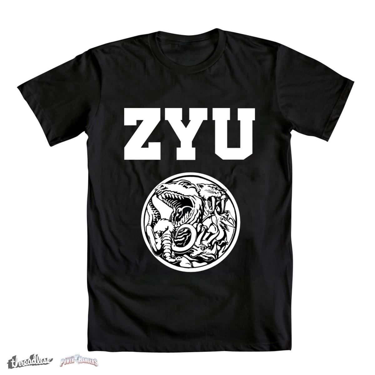 ZYUniversity by IllustratorErik on Threadless