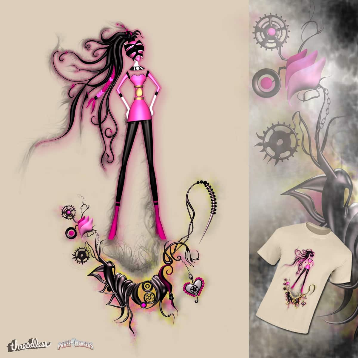 Great Pink Hope by Mangosta_Goth on Threadless