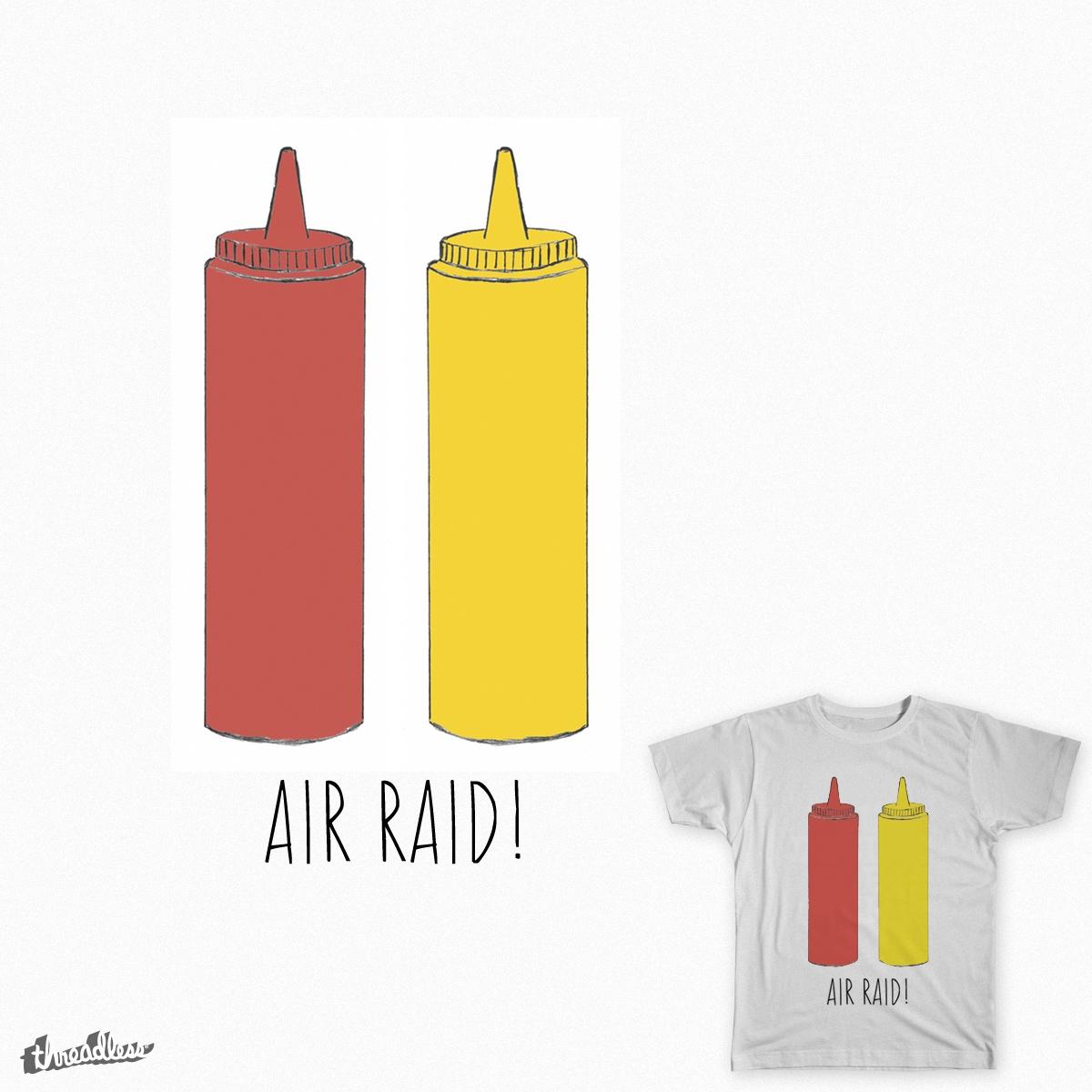 Air Raid! by lizjackson on Threadless