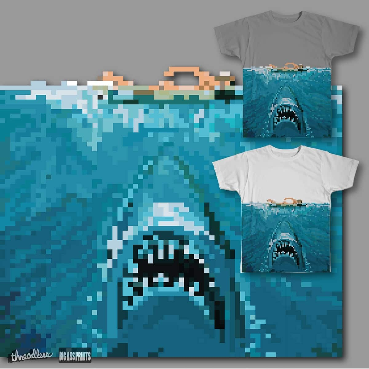 8-Bit Bite by MCartsC on Threadless