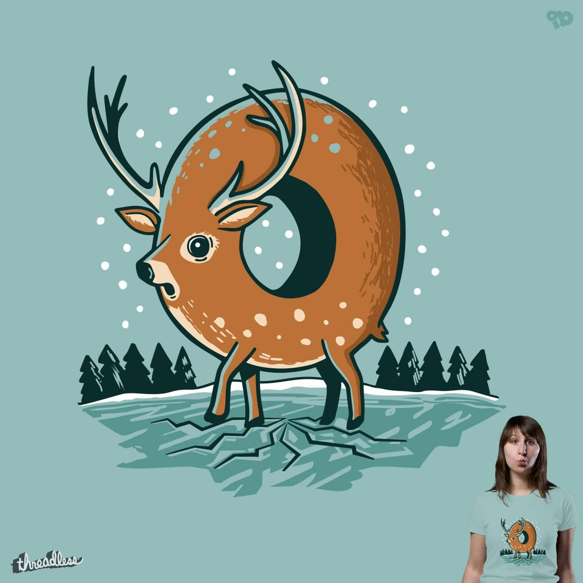 O Deer Threadless