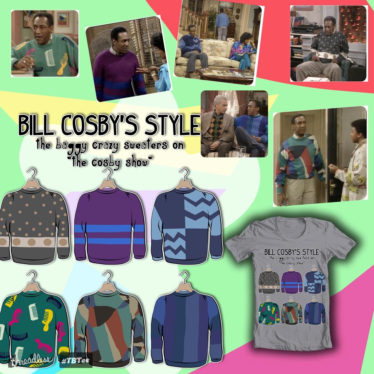 Score Bill Cosbys Sweaters By Asor77 On Threadless