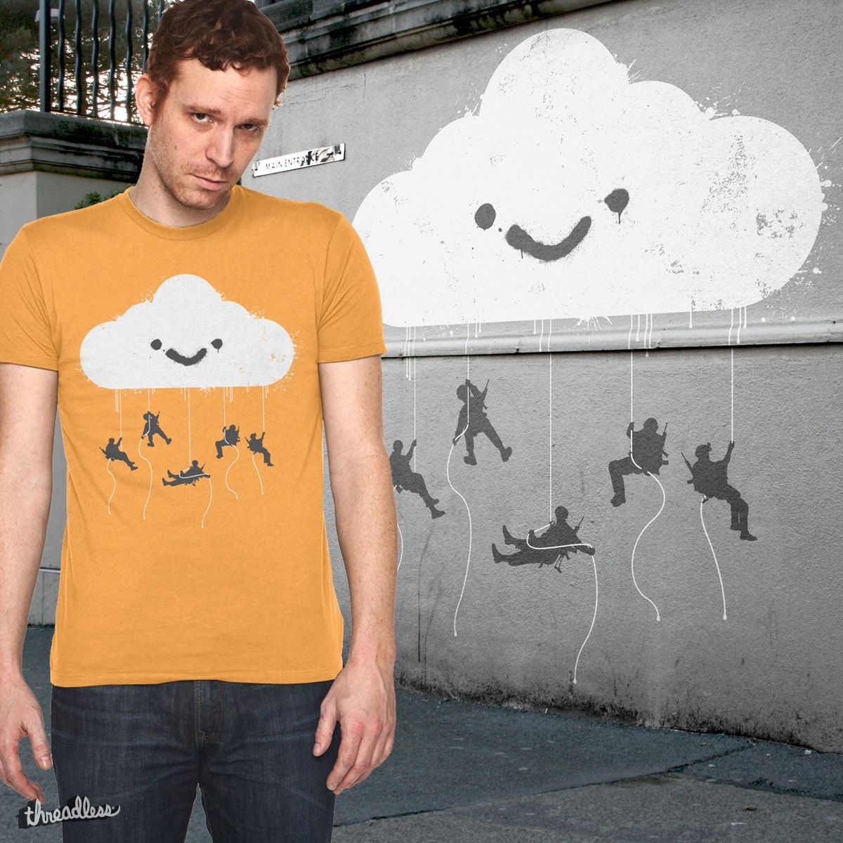 Cometh The Shit Storm by iamscotty on Threadless