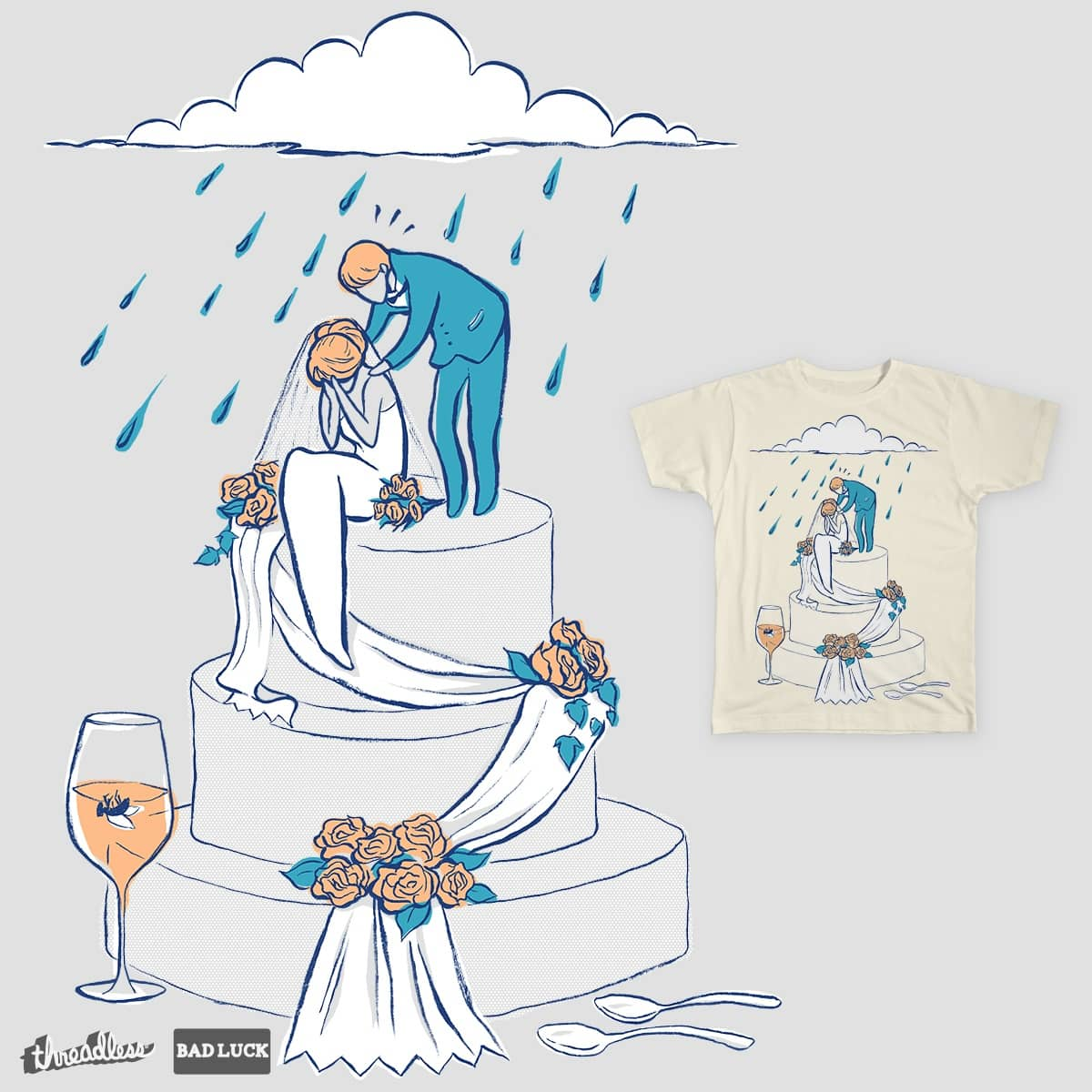 Score its like rain on your wedding day by sloobeast on threadless its like rain on your wedding day by sloobeast on threadless junglespirit Image collections