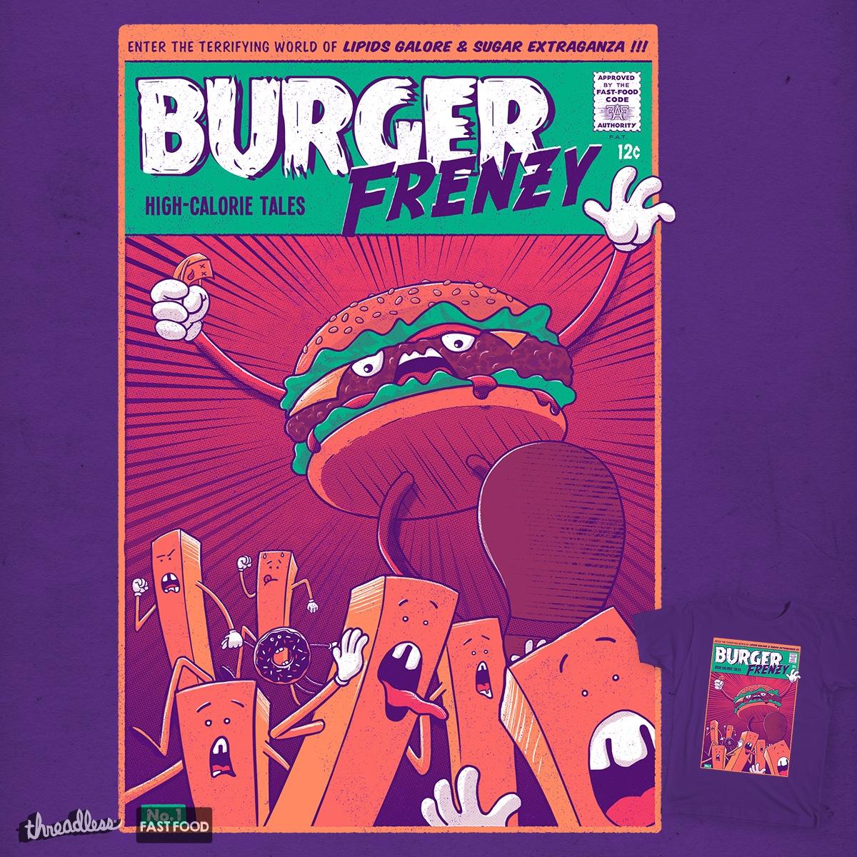 Burger Frenzy by v_calahan on Threadless