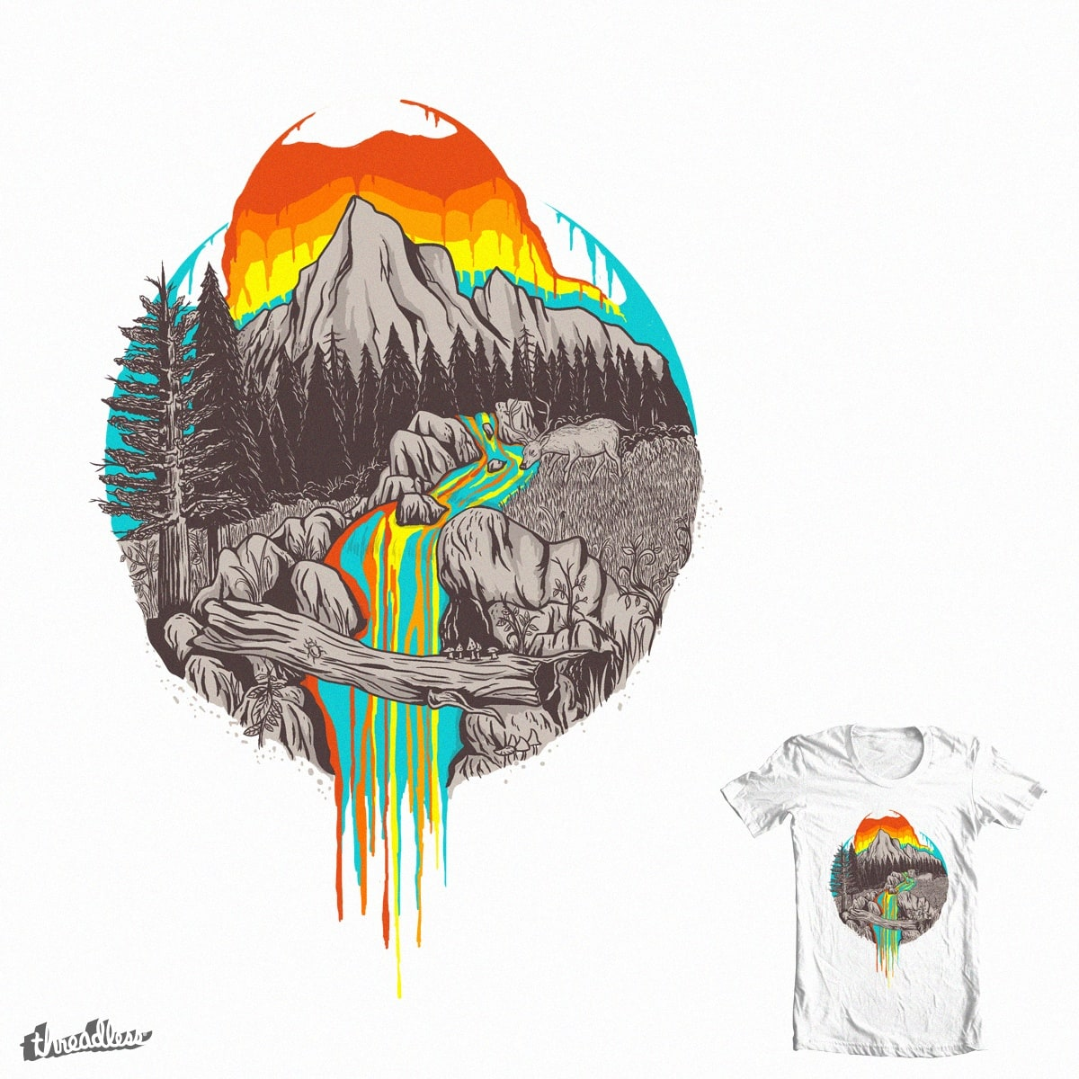 meltingsun by moty_moty_moty on Threadless