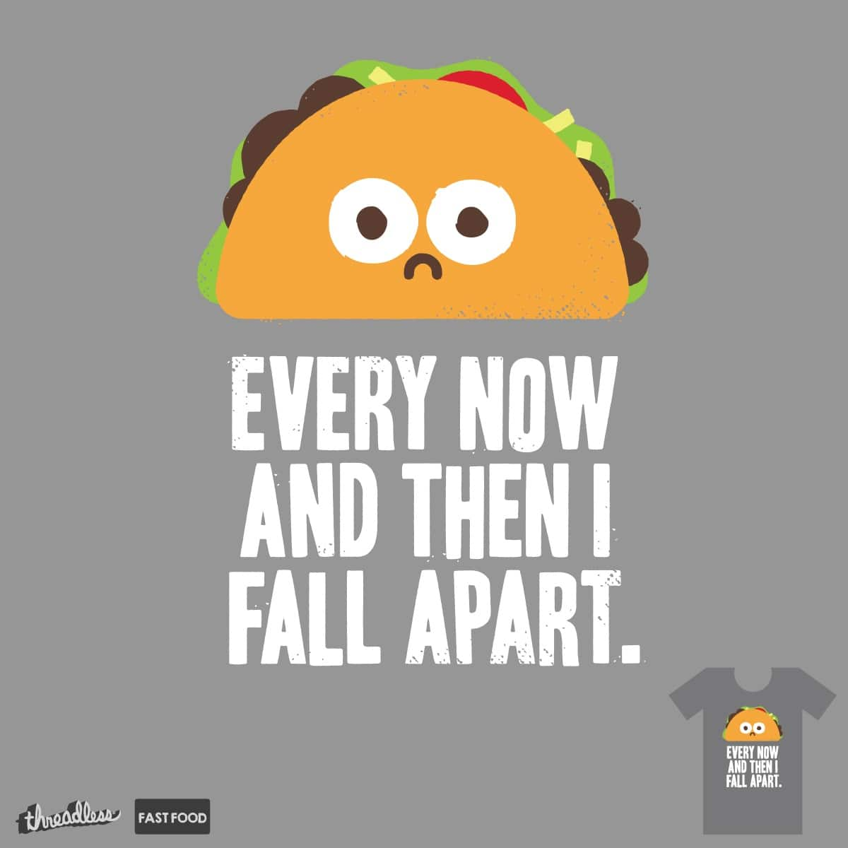 Taco Eclipse of the Heart by DRO72 on Threadless