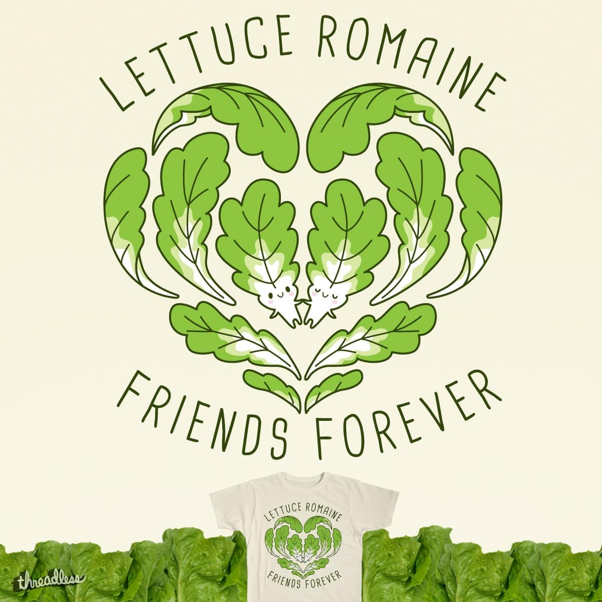 Romaine Hearts by MIS0HAPPY on Threadless