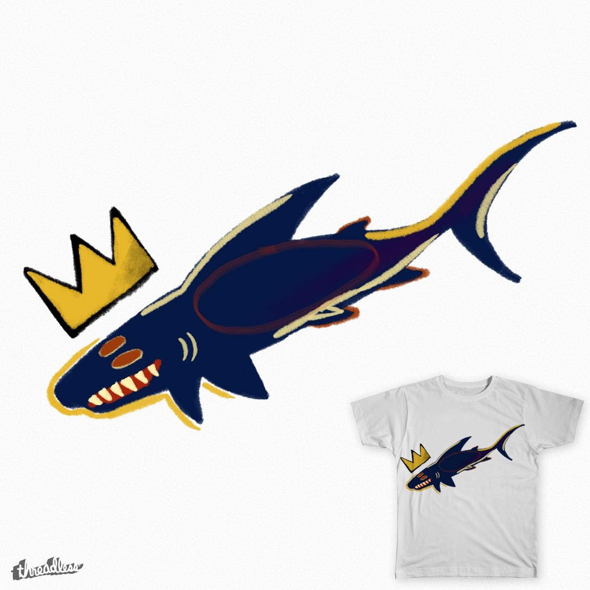 Score Basquiat Shark by dawnl on Threadless  Score Basquiat ...