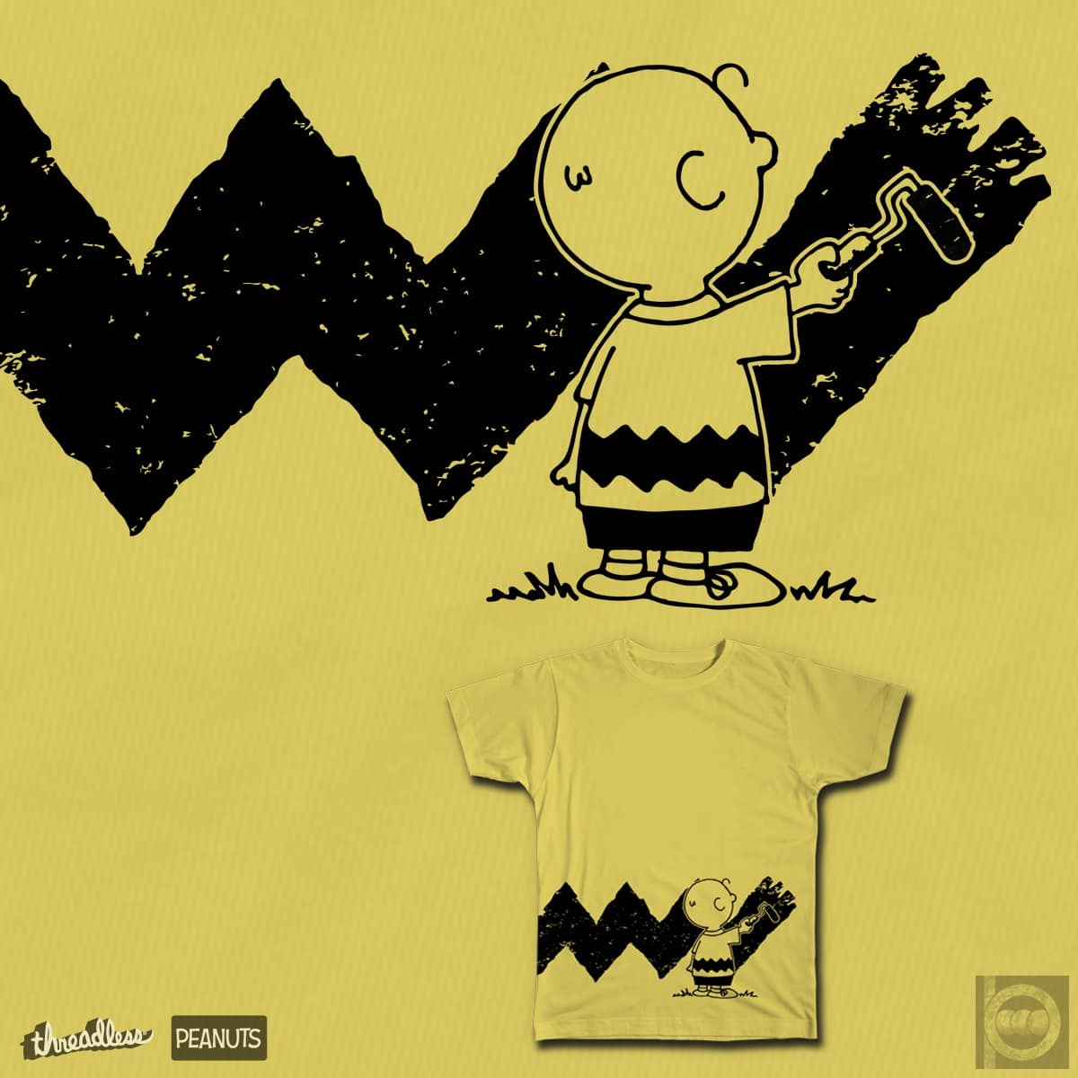 Charlie Brown Shirt Design