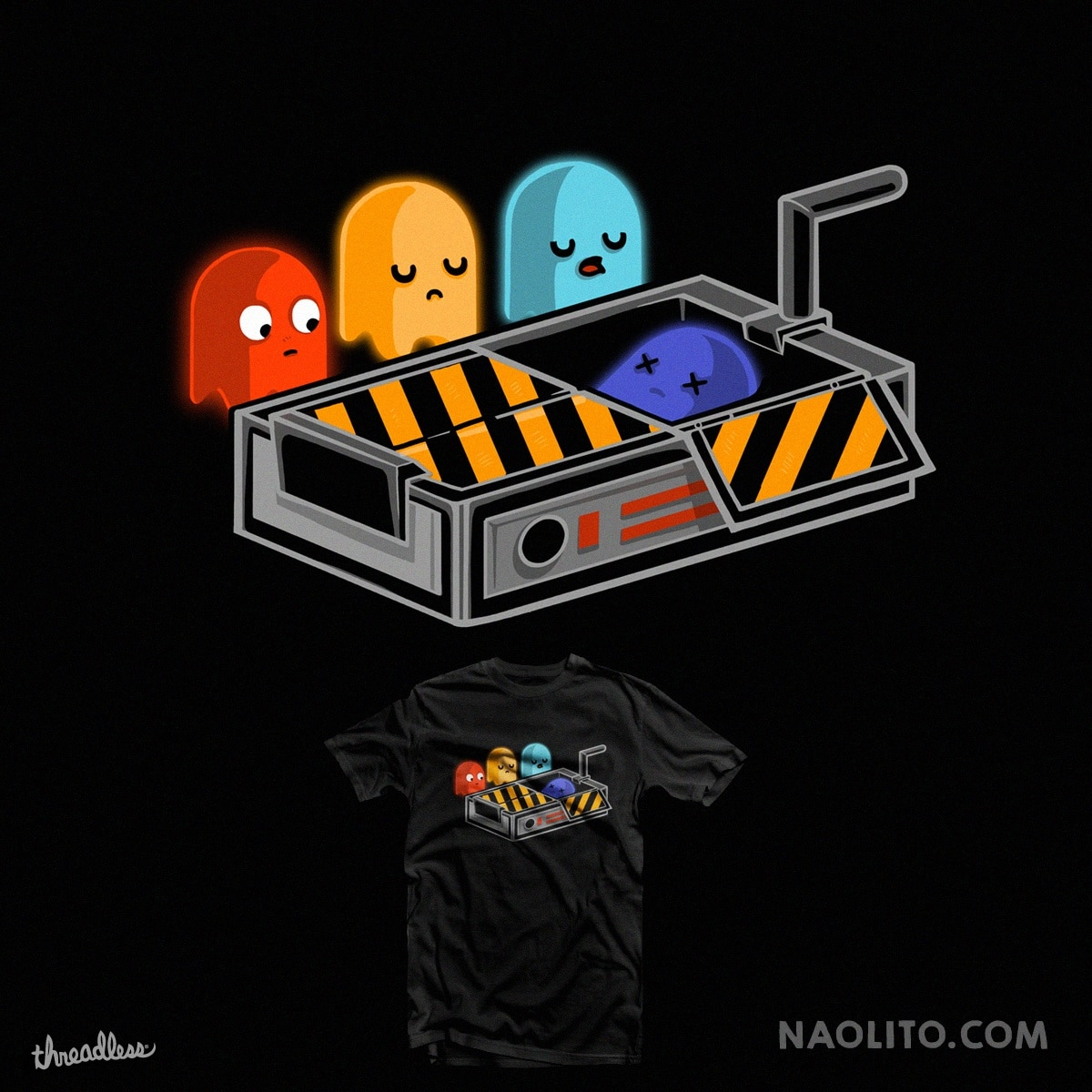 Ghost Busted by Naolito on Threadless