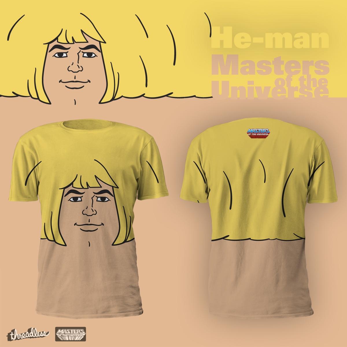 He Man T Shirt