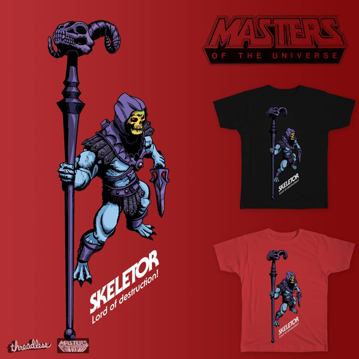LORD OF DESTRUCTION by AWCramer on Threadless