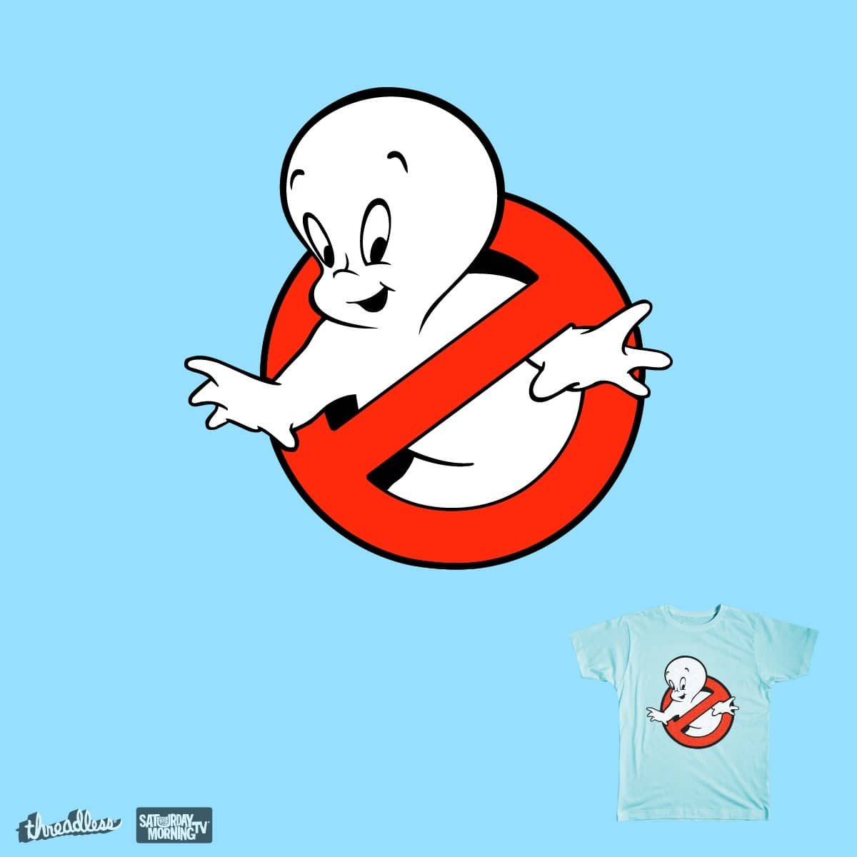 Casper  by clipdepelicula on Threadless