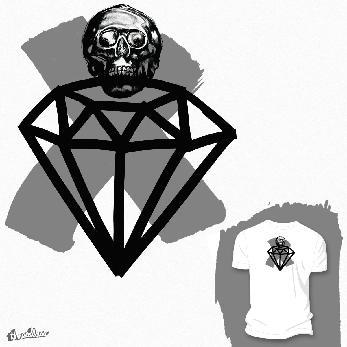 Rough Diamond by Airborne360 on Threadless