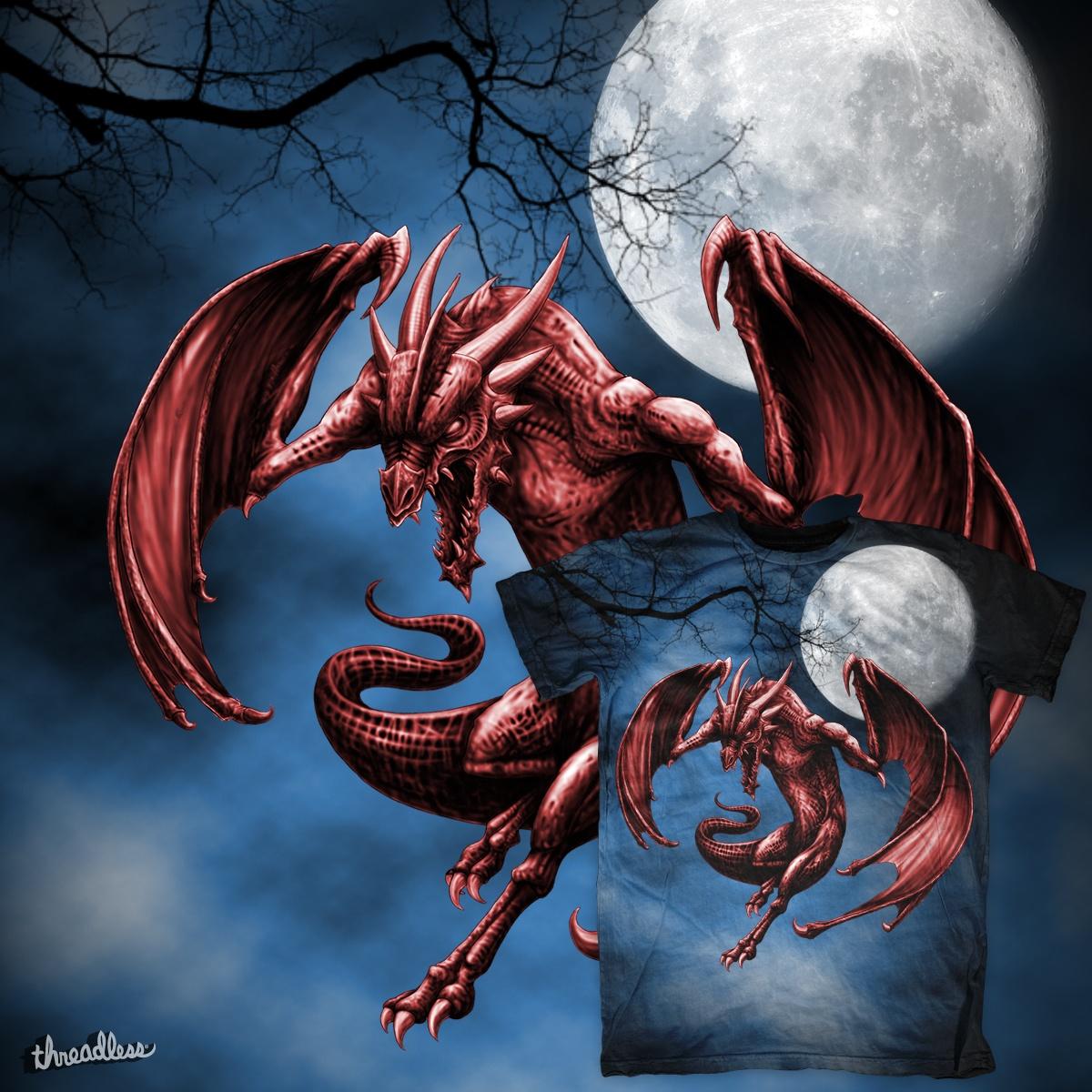 score moon dragon by oblivion on threadless
