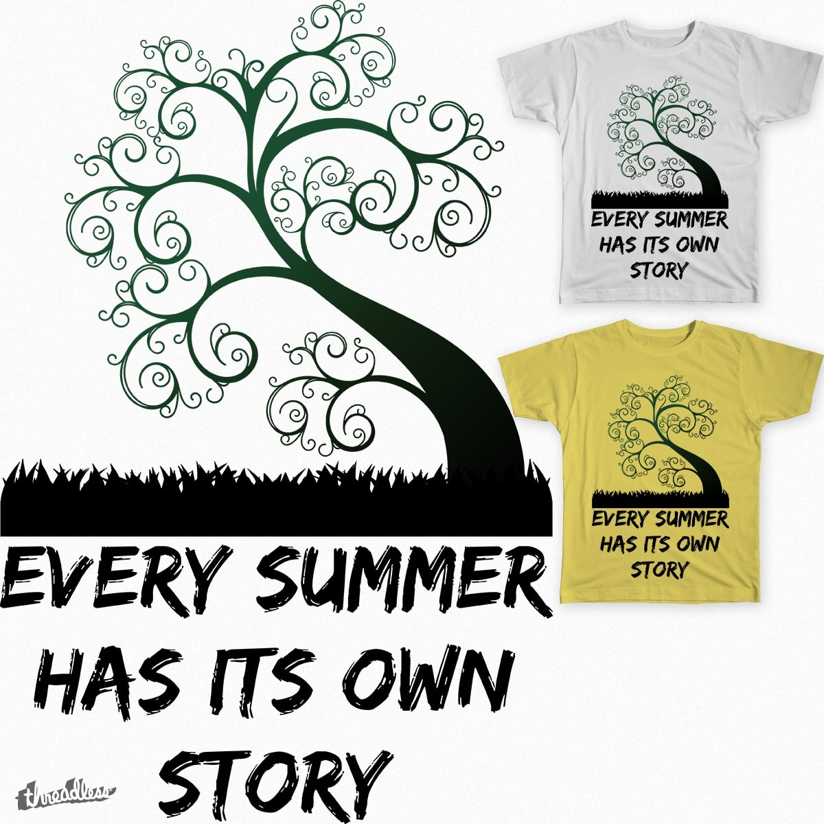 Every Summer Has Its Own Story By Uberteess On Threadless