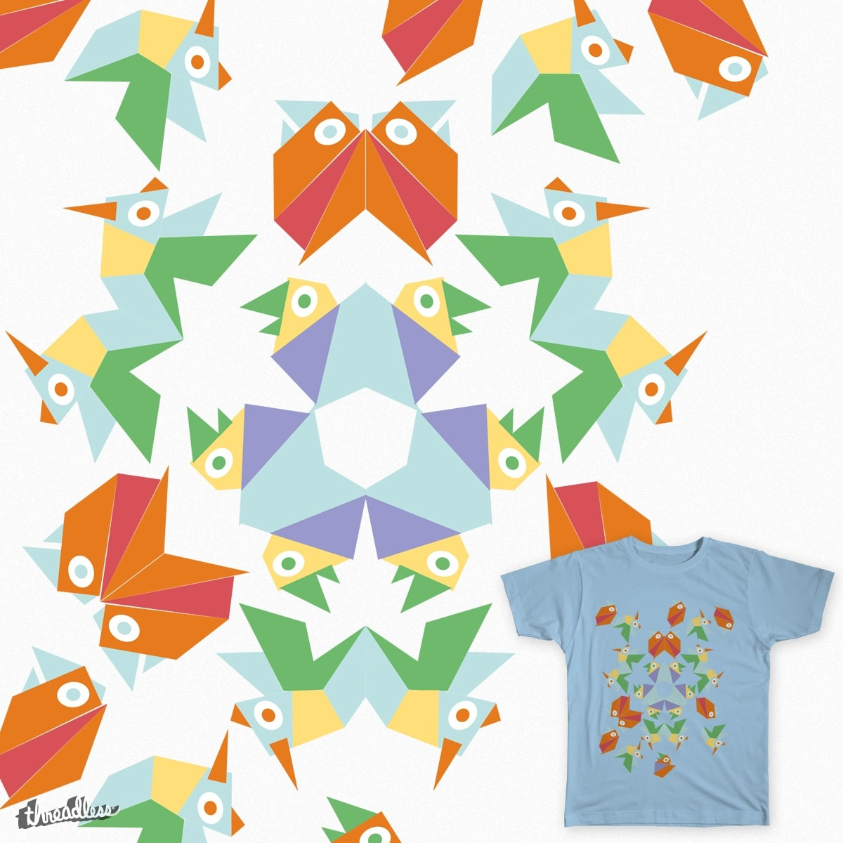 Ready to fly. by JimenaSalas on Threadless