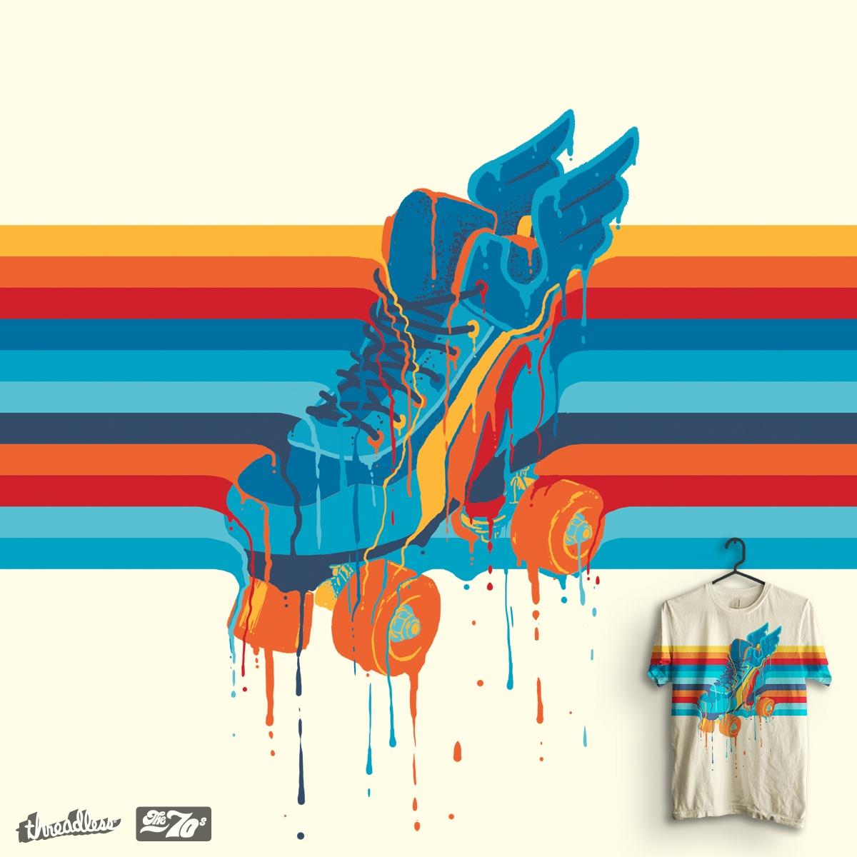 Roller Skate by idilek on Threadless