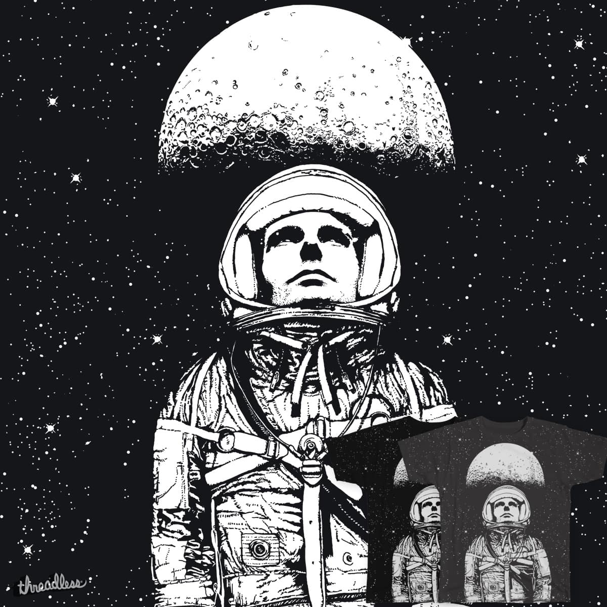 Looking for space by Sy_Graham on Threadless