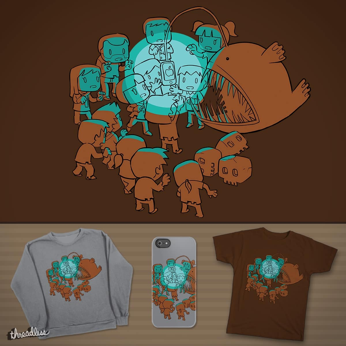 Luminous Lure by itiohs on Threadless