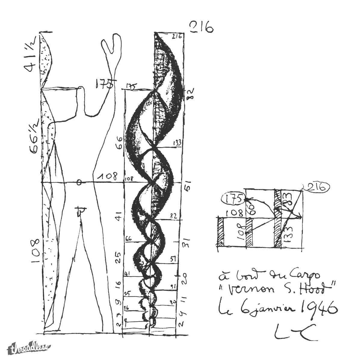 score modulor sketch by mytronium on threadless. Black Bedroom Furniture Sets. Home Design Ideas