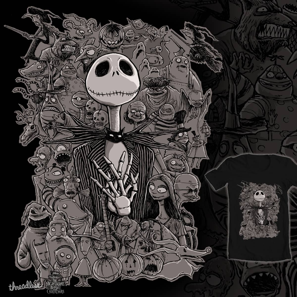 Score This is Halloween by Moutchy on Threadless