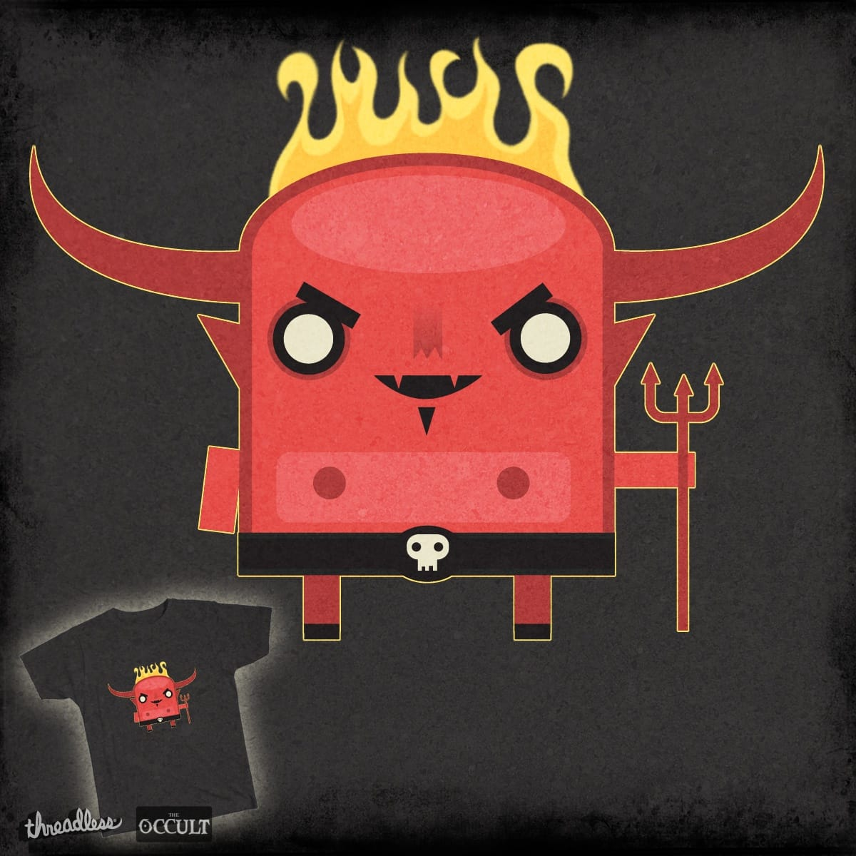Lil' Satan by chrisgrine on Threadless