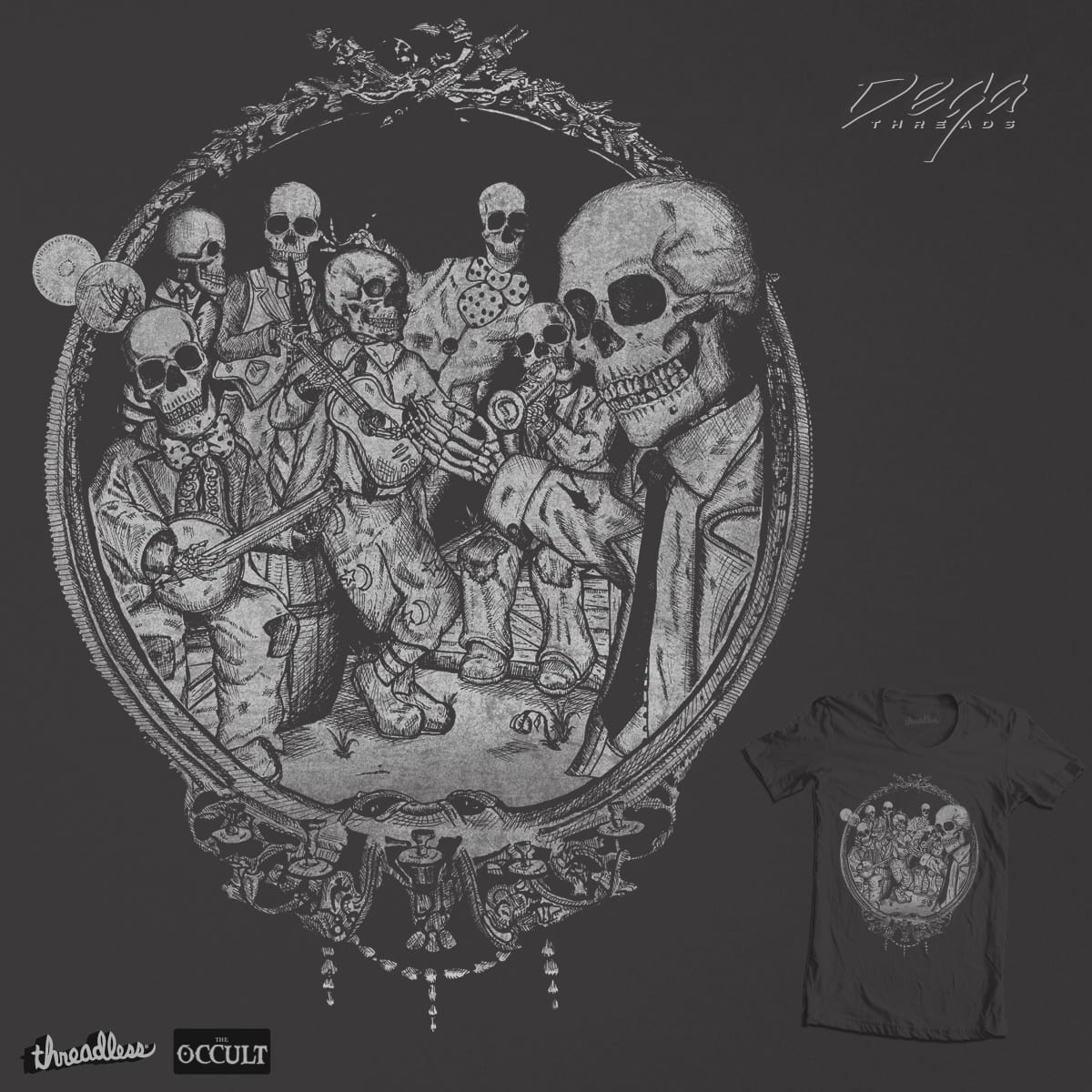 Occult Paranormal: Score An Occult Classic By DegaStudios On Threadless