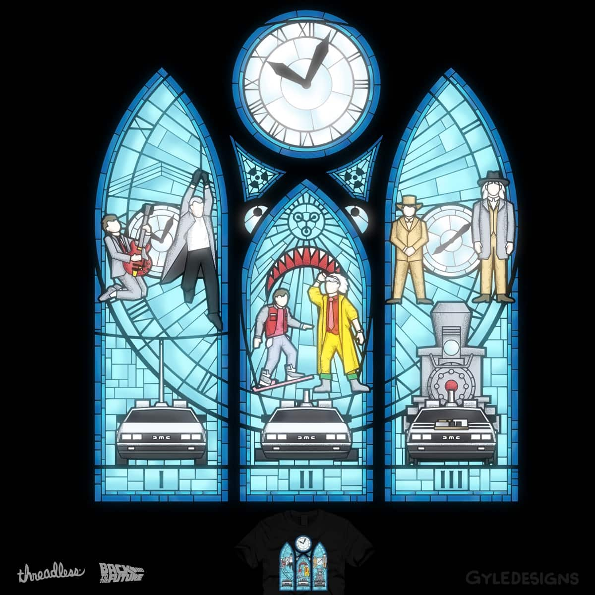 The Prophecy of the Great St. Scott by GyleDesigns on Threadless