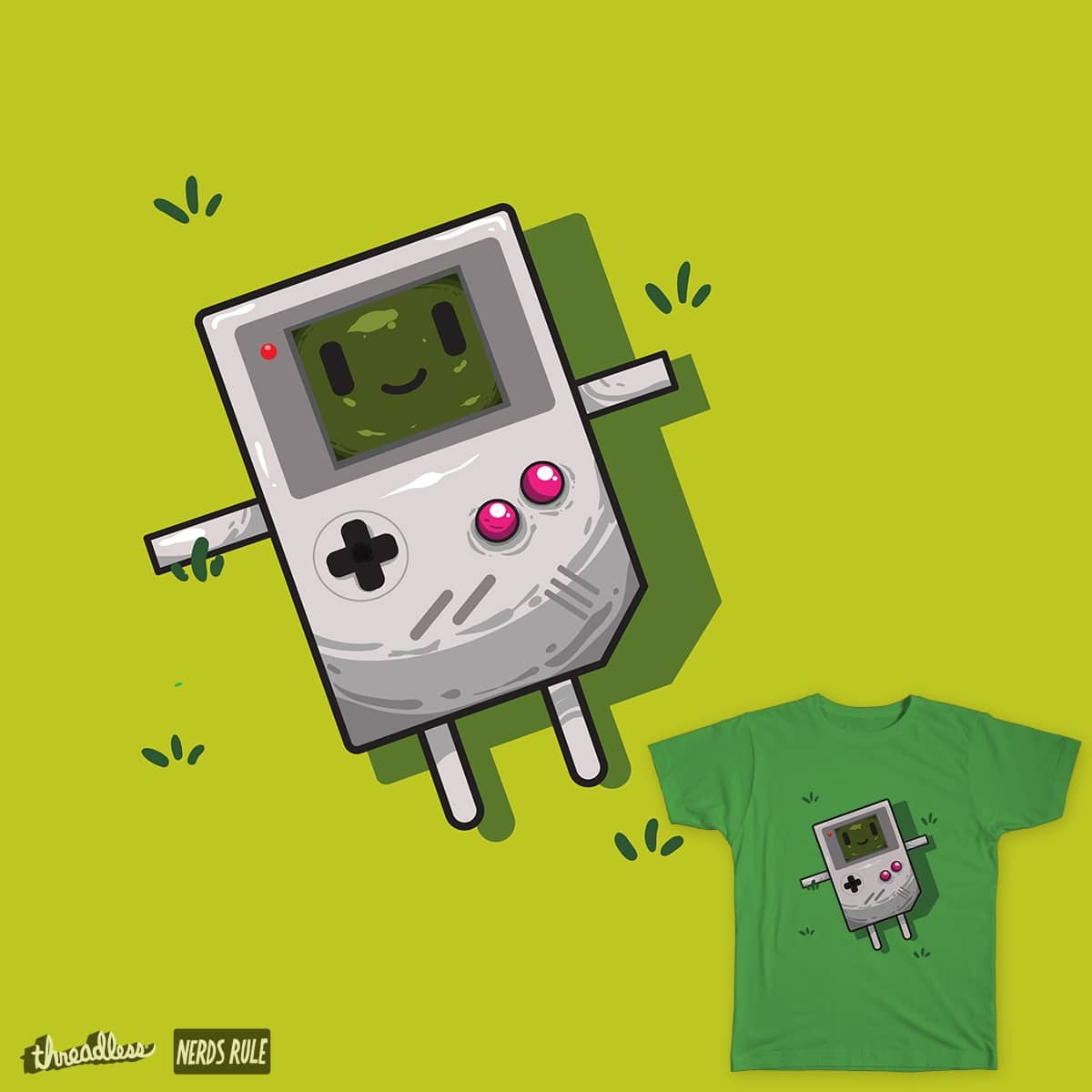 Game Boy by MaxDima on Threadless