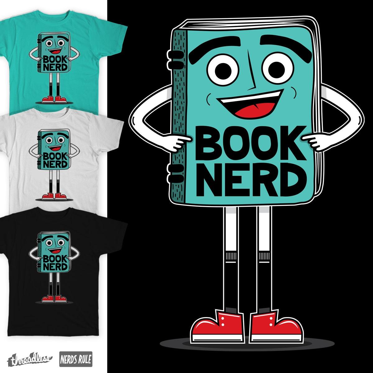 Book Nerd Man by treemanjake on Threadless
