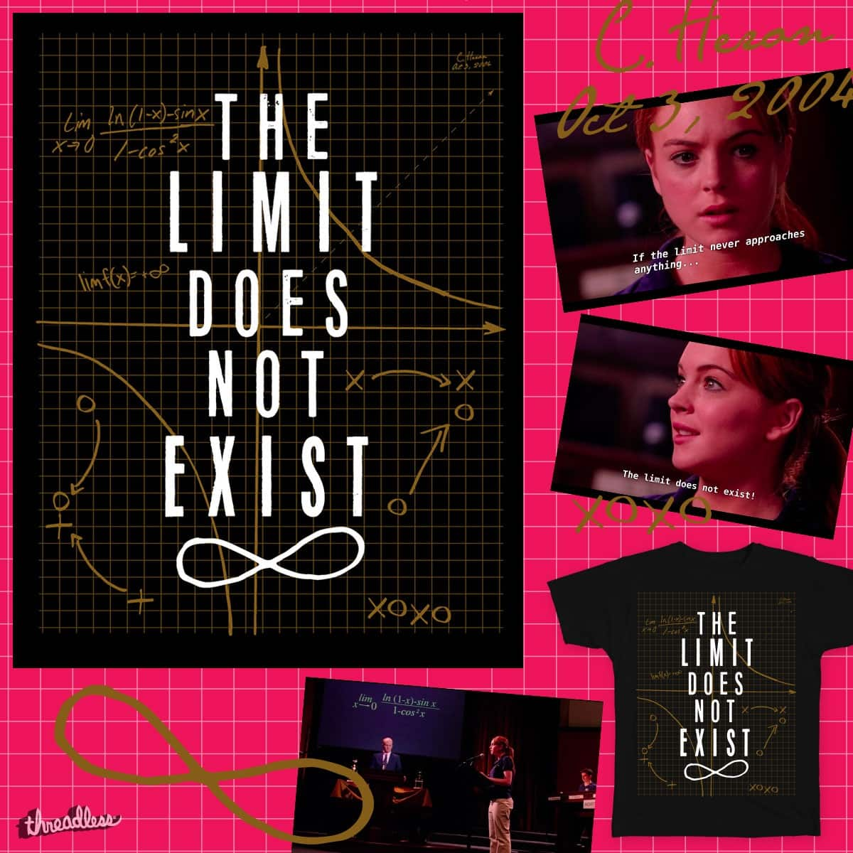 THE LIMIT DOES NOT EXIST by MrRtist21 on Threadless
