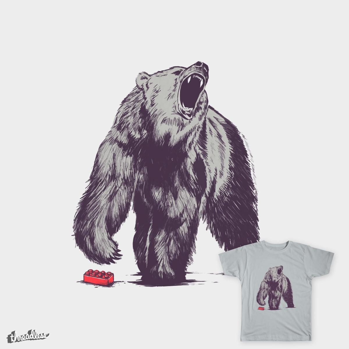 Bear Block by danielteres on Threadless