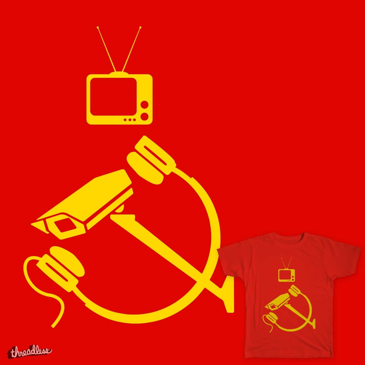 Score Digital Totalitarianism 2 By Gratefr On Threadless