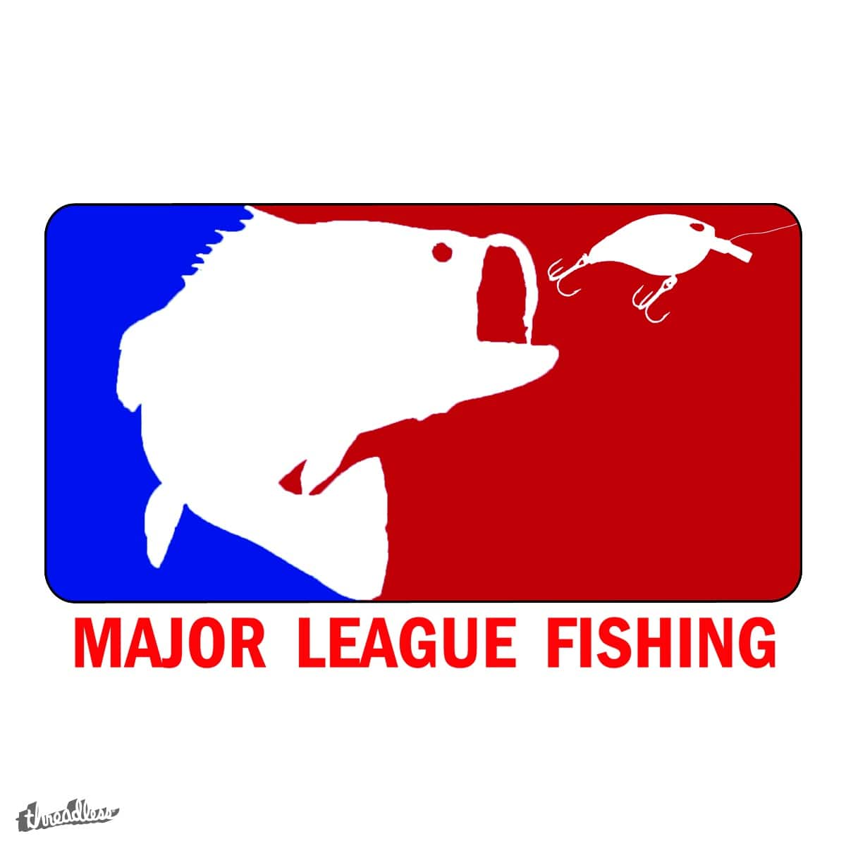 Score major league fishing by pargmandesigns on threadless for Major league fishing com