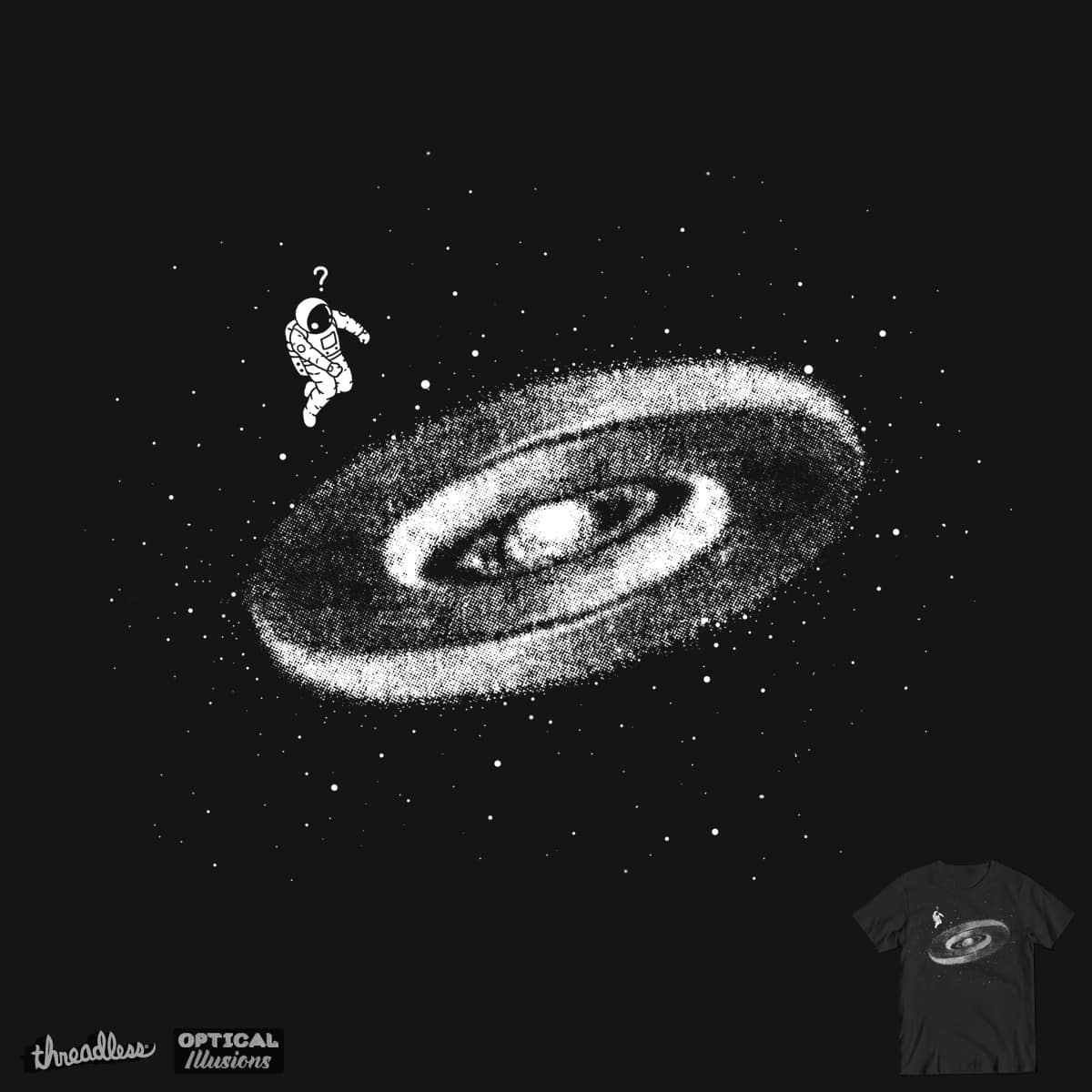 Lost in space by uptme on Threadless