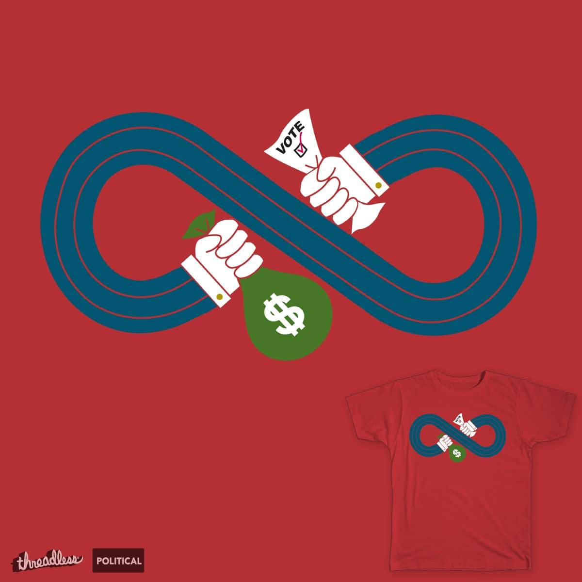 Politics as usual by dnice25 on Threadless