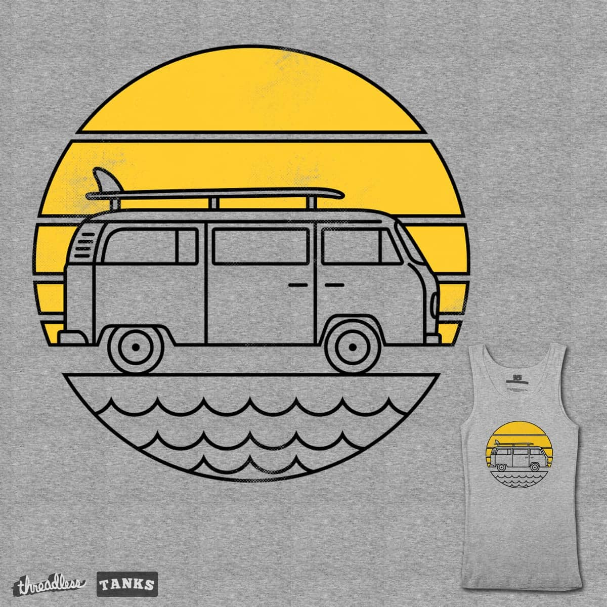 ROAD TRIP by alfbocreative on Threadless