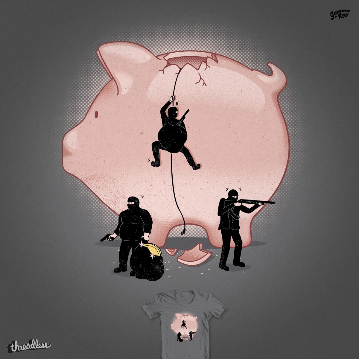 Piggy Bank by Gamma-Ray on Threadless