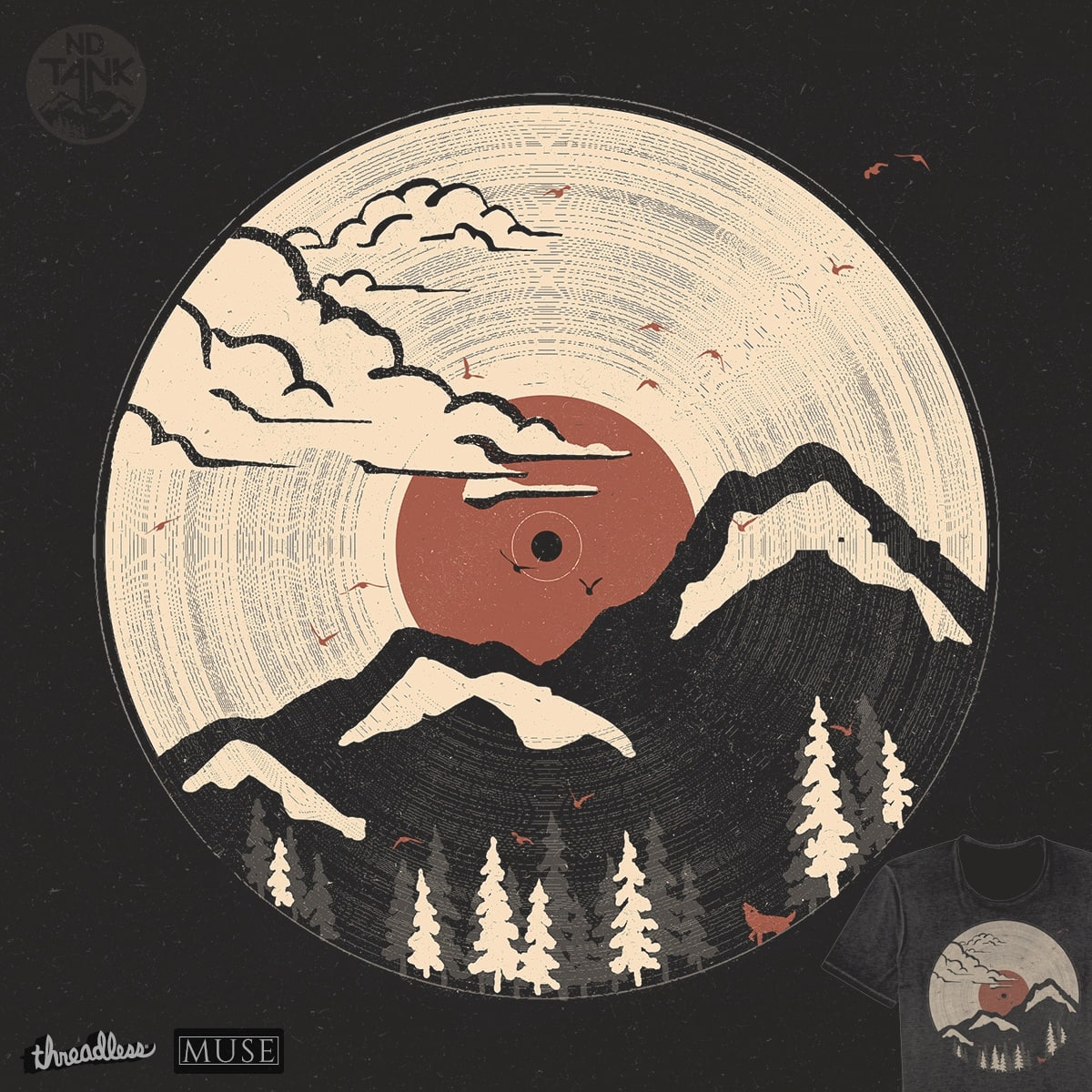 MTN LP by NDTank on Threadless