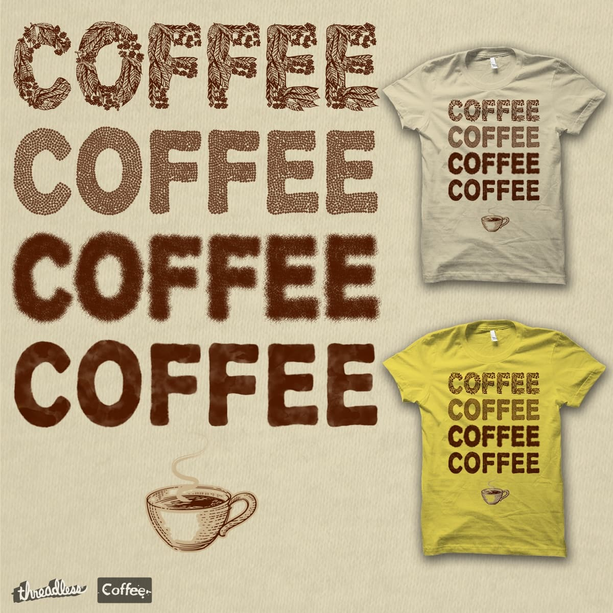 Score FROM SEED TO CUP by jrtoyman on Threadless