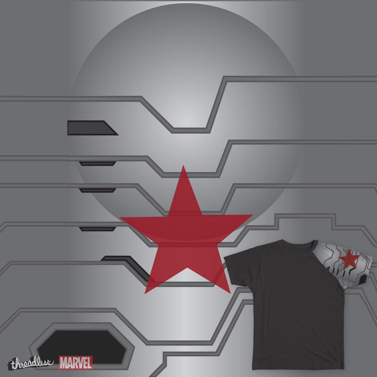Score Winter Soldier Arm by Katarnar on Threadless